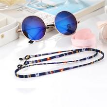 Новые очки солнцезащитные очки хлопок шеи шнур фиксатор ремни для очков ремешок-держатель с хорошей силиконовой петлей
