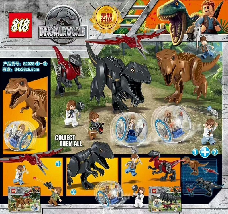 Building Blocks 82028 Jurassic World Indominus Rex Tyrannosaurs T-Rex Building Blocks toys Dinosaur Bricks Children Gift Toys потолочный светильник lussole lsj 0306 01
