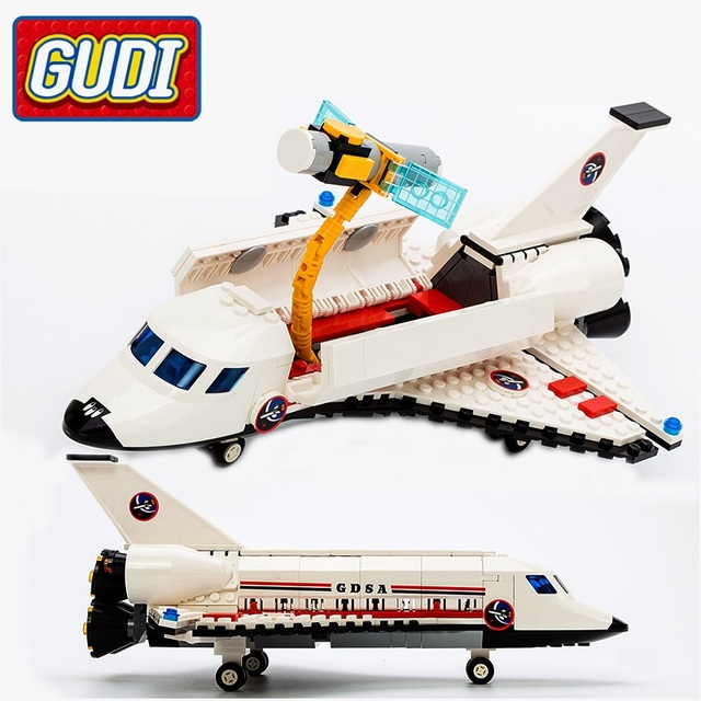 Gudi City Space Shuttle 297 Pcs Bricks Without Box Single Sale