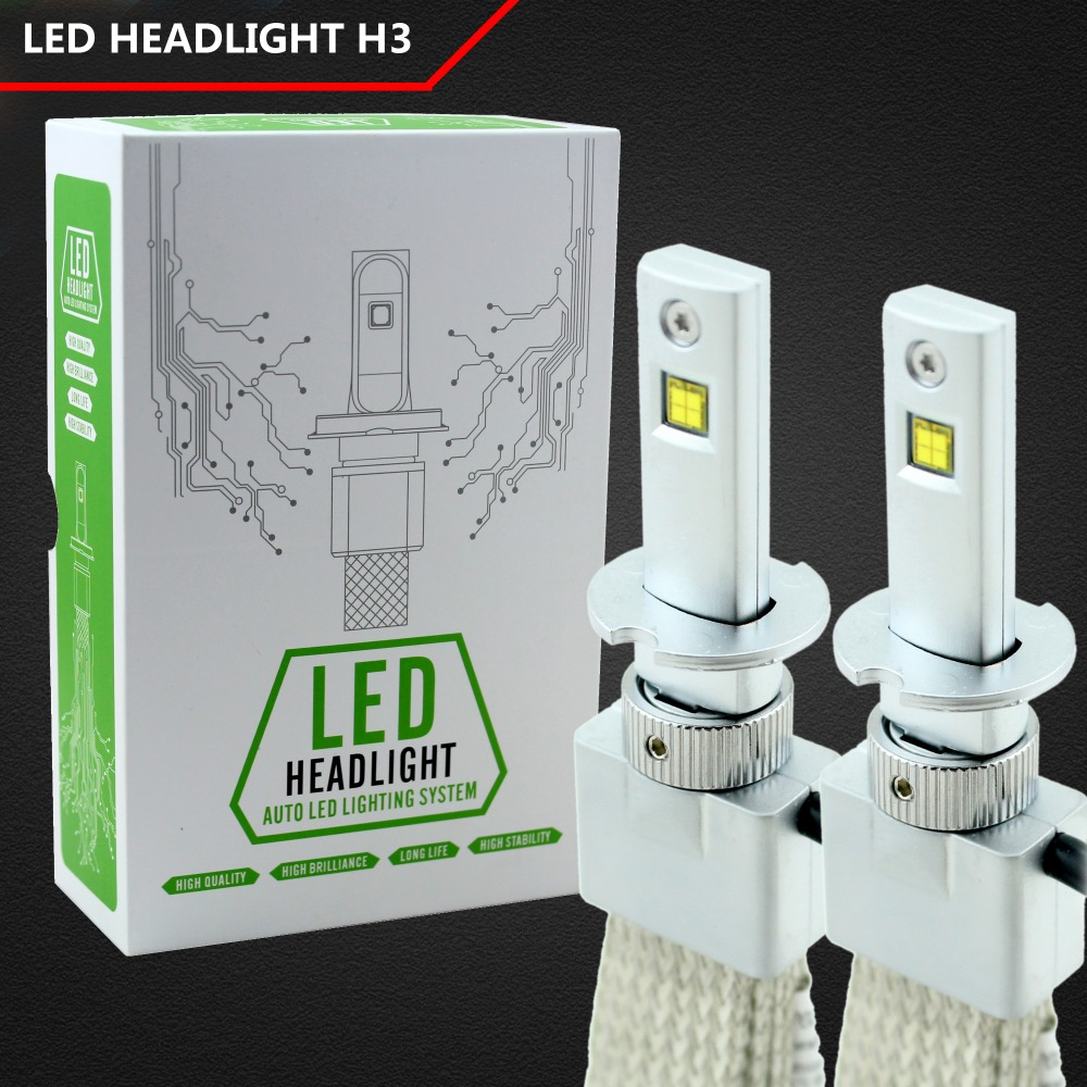 H1 H3 H4 H7 H8/H9/H11 9005 9006 H13 80W 6000K Super Bright 6s White led car light lamp bulb Car Styling HeadLight Fog Lights hfw01 h7 750lm 80w 16 led 6000k white light car fog lamps dc 12 24v 2 pcs
