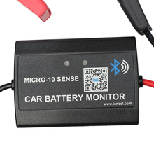 Car Cranking Monitor Battery Tester Bluetooth Load Portable Charging System Real Time Analyzer Wireless Diagnostic Tool