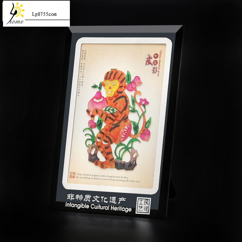 Shadow Decoration Painting Chinese Zodiac Gifts Foreigners
