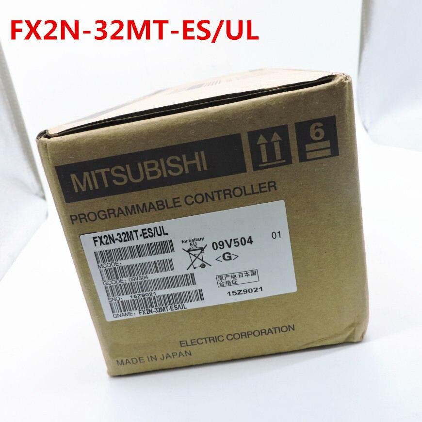1 year warranty New original In box FX2N 32MR ES UL FX2N 32MT ES UL FX2N