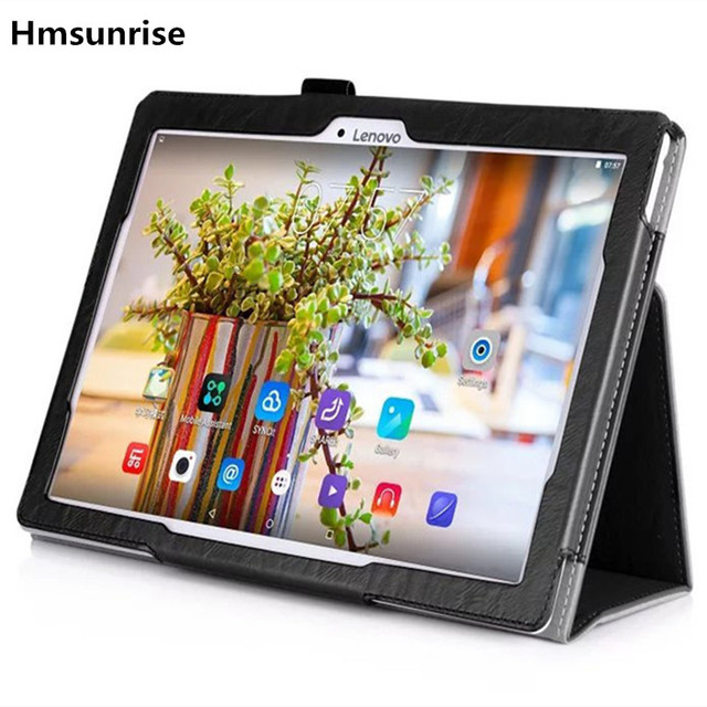 Stand Case for Lenovo Tab 2 A10-70 Slim Litchi PU Smart Cover for Lenovo Tab 2 A10-70F A10-70L for lenovo tab 2 10.1