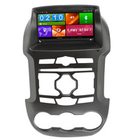Горячие продажи 8 HD Автомобильный DVD GPS плеер GPS навигации с Bluetooth ставку Радио CAN BUS для Ford Ranger 2012 2013 2014 3G Зеркало Ссылка