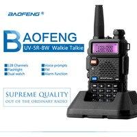 טוקי baofeng Baofeng UV 5R 8W ווקי טוקי Ver BFP3-23 Dual Band UV5R Dual Band כף יד שני הדרך רדיו Pofung ווקי טוקי לציד (5)