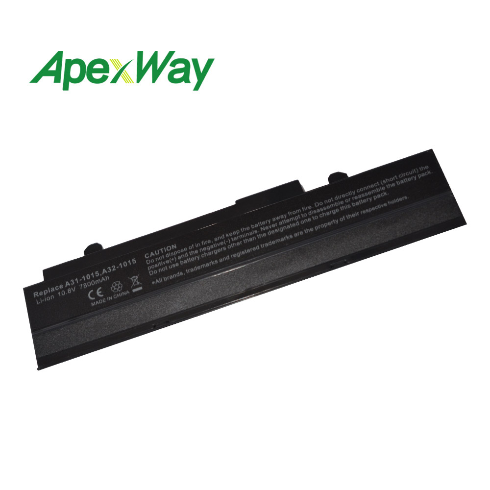 9CELL 6600mAH battery For Asus Eee PC EPC 1215 PC A31-1015 A32-1015 1215N 1015b 1015 1015bx 1015p 1015px AL31-1015 <font><b>1215b</b></font> image