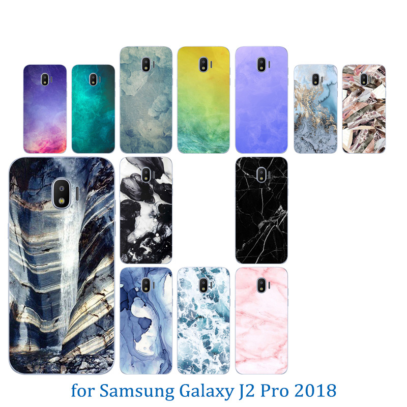 Clear TPU Cases for Samsung Galaxy J2 Pro 2018 / SM J250F