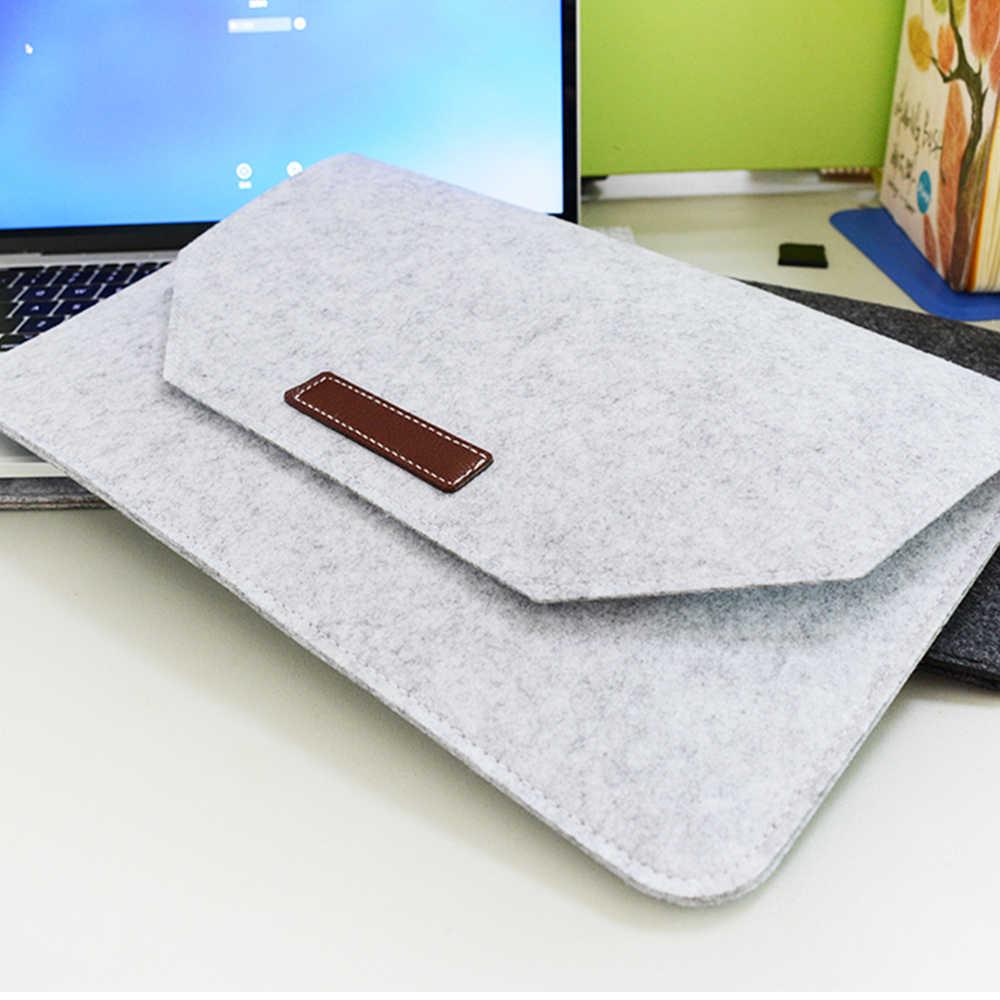 חדש רך שרוול תיק מחשב נייד עבור Macbook רשתית 11 12 13 14 15 אינץ מחשב נייד Tablet מקרה כיסוי עבור HP Dell Mac ספר