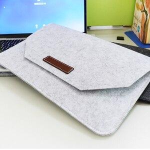 Image 5 - Yeni yumuşak kol Laptop macbook çantası hava Pro Retina 11 12 13 14 15 inç dizüstü PC tablet kılıfı kapak için HP dell Mac kitap
