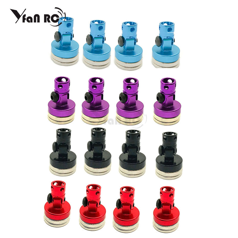 4pcs Magnetic Stealth Invisible Body Post Mount Contact Shell Column + Clips For 1/10 RC Drift Car Traxxas HSP Sakura Redcat4pcs Magnetic Stealth Invisible Body Post Mount Contact Shell Column + Clips For 1/10 RC Drift Car Traxxas HSP Sakura Redcat