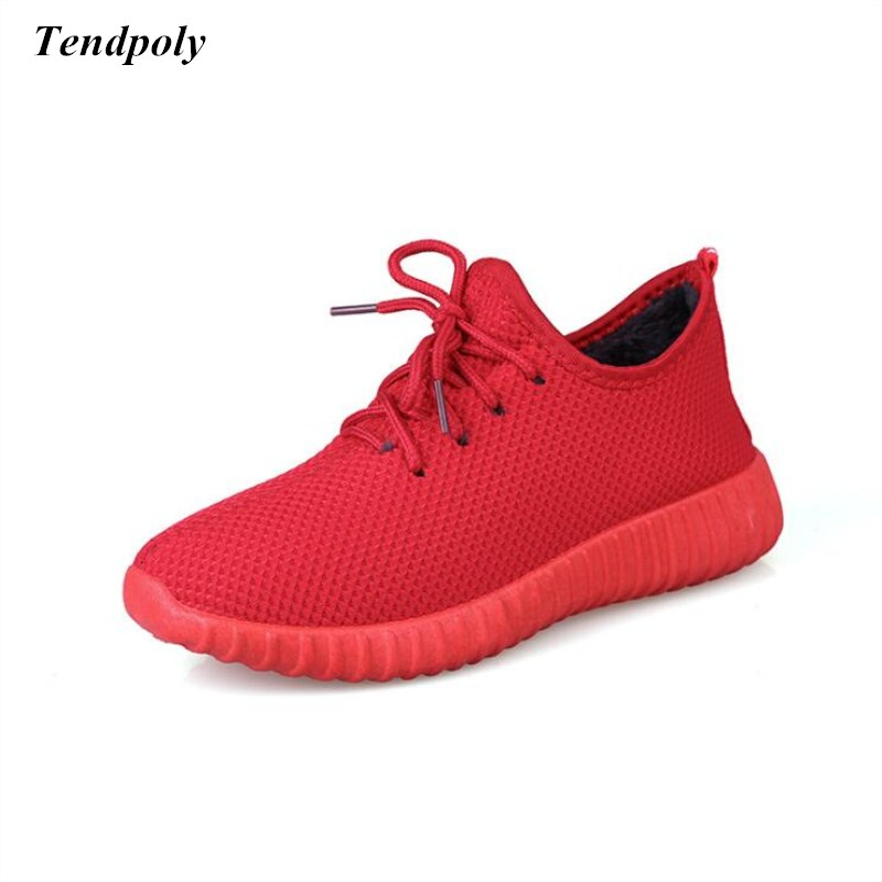 Autumn and winter new old Beijing cotton plus velvet fashion  size (36-40) casual red Women's shoes hot wild warm pedal shoes 2017 autumn and winter new plus velvet thick women s boots soft bottom comfortable breathable mother shoes wild leather