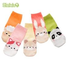 5 Pair lot Kawaii Pattern Cotton font b Kids b font font b Socks b font