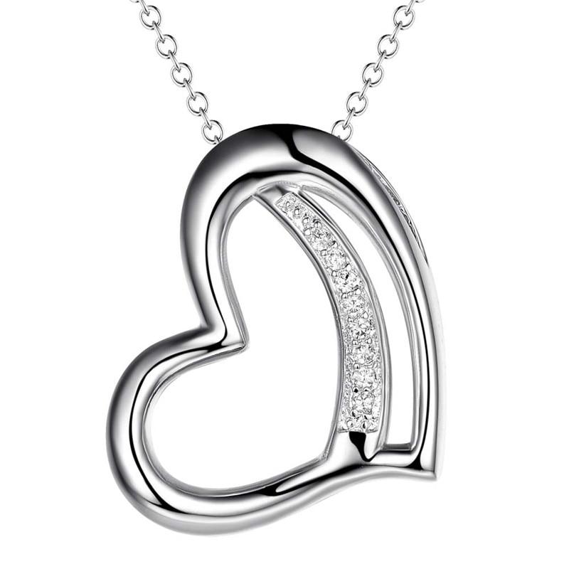 Fashion Black Silver Hollow Drop Zircon Grand Collier Pendentif Chaîne Longue