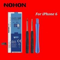 NOHON 1810 mAh Hoge Kwaliteit Nieuwe Batterij Voor iPhone 6 4.7 ''Ingebouwde Vervanging Batterijen Met Demontage Werktuigmachines