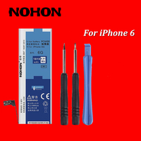 HongKong Top Brand NOHON 1810mAh High Quality New Battery For IPhone 6 4 7 Built In