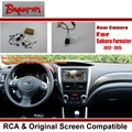 Car Rear View Camera / Back Up Reverse Camera Sets For Subaru Forester 2012~2015 PR43 / RCA & Original Screen Compatible