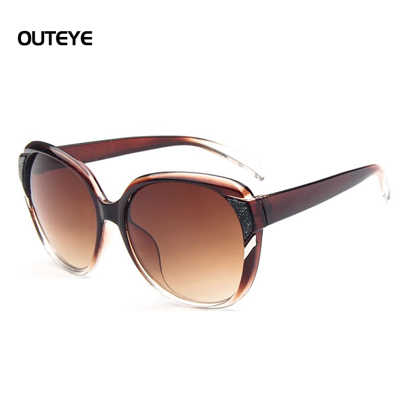 Big Framed Fashion Glasses : ?OUTEYE Fashion Sunglasses Women Large Frame Frame Style ...