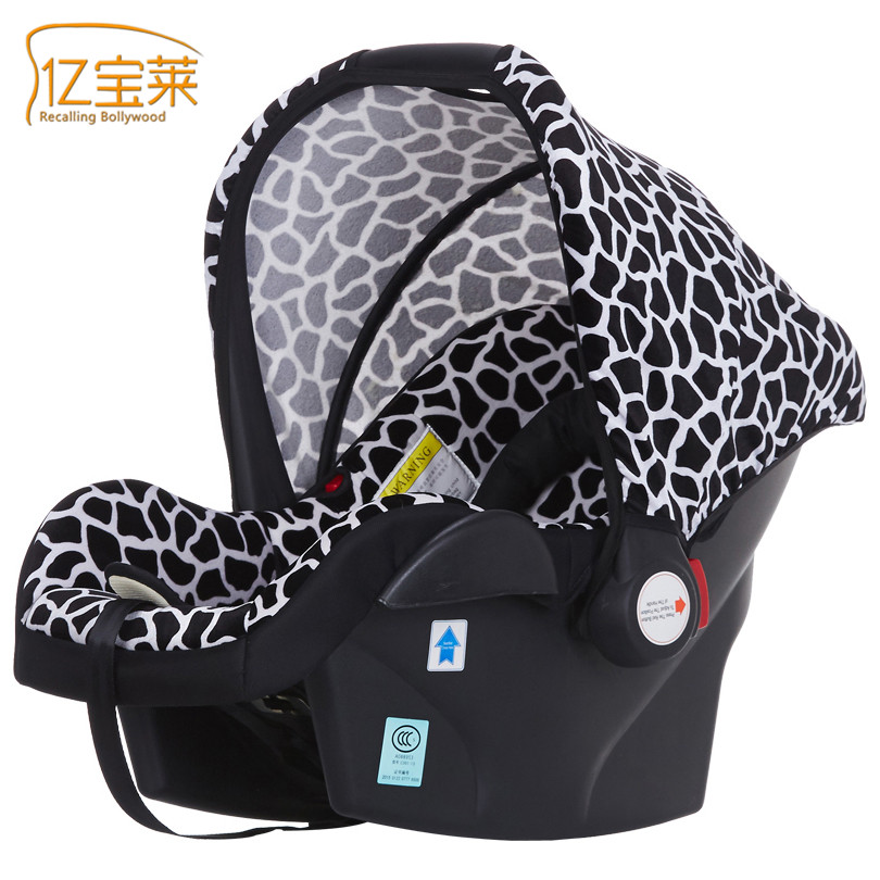 2017 Portable Brand Baby Children's Car Basket Safety seat Fashion Soft Breathable Carseat for 0-15 Months Baby free ship brand new safe neonatal basket style car seat infants handle basket seat newborn babies car safety seats free shipping