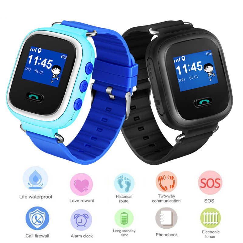 LIGE Smart Watch Multifunction Children Digital Wristwatch SOS Alarm Baby Watch With Remote Monitoring Birthday Gifts For Kid