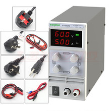 KPS605D 60 V 5A DC fuente de alimentación SMPS ajustable Digital de Un Solo Canal 0.1 V 0.01A KPS605DF Display 4 Dígitos 0.1 V 0.001A