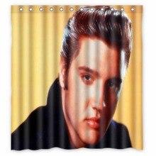 Vixm Home Elvis Presley Super Shower Curtains Movies Symbol