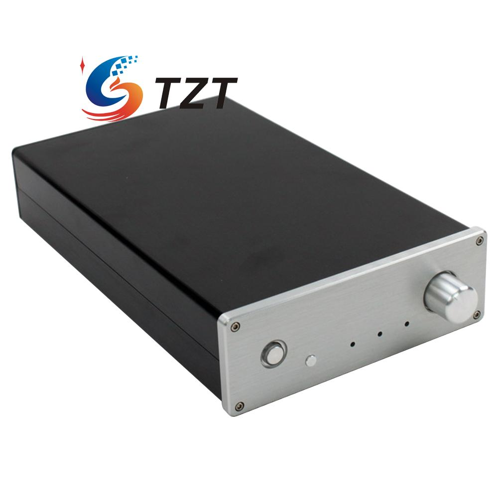 WA63 Aluminum Amplifier Chassis Shell Enclosure Case Box 310x190x65mm Silver картридж nv print для xpress m2020 m2020w m2070 m2070w m2070fw 1800k nv mltd111l