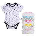 Baby Rompers Newborn Clothes Baby Clothing Boys Girls Brand Cotton Jumpsuits Short Sleeve Summer Cartoon Clothing