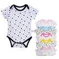 Macacão de bebê recém-nascido roupas de bebê clothing marca meninos meninas macacões de algodão de manga curta verão dos desenhos animados clothing
