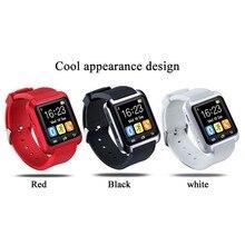 Berif U8 Smartwatch Bluetooth Smart Watch Men Watch Notification Fitness Tracker Passometer with Sim Slot for