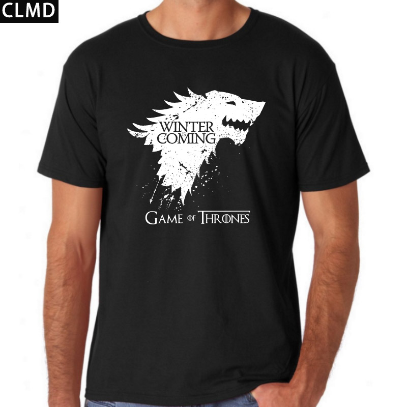 Top Quality Short Sleeve Sleeve Game Of Thrones Print