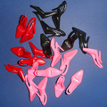 Free shipping 100pair/lot fashion shoes factory wholesale shoes for barbie dolls