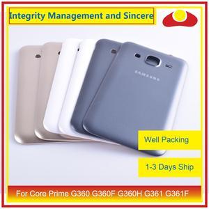 Image 4 - 50 pièces/lot pour Samsung Galaxy Grand Prime G530 G530H G530F G531 G531F boîtier batterie porte arrière couverture boîtier châssis coque