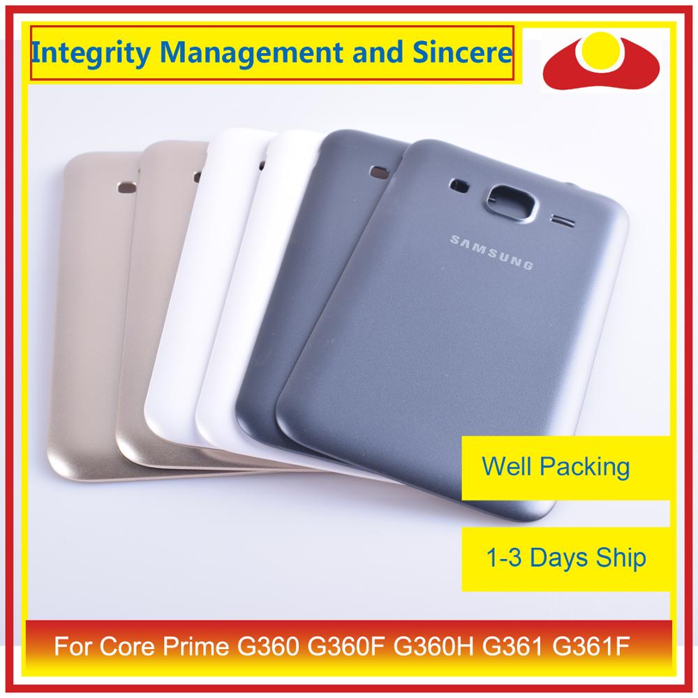 Image 4 - For Samsung Galaxy Core Prime G360 G360F G360H G361 G361F Housing Battery Door Rear Back Cover Case Chassis Shell Replacement-in Mobile Phone Housings & Frames from Cellphones & Telecommunications