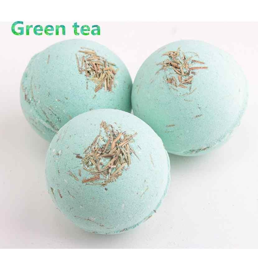 ... 1PC Deep Sea Bath Salt Lavender Lemon Milk Rose Body Essential Oil Bath  Ball Natural Bubble ... 031205a7ca30