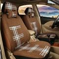 (Только 2 спереди) Универсальный автомобиль чехлы Для сидений Hyundai solaris ix35 ix25 i30 Elantra акцент tucson Соната автомобиля аксессуары стиль