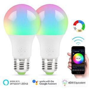 E27 Smart WIFI Bulb 6.5W Dimma