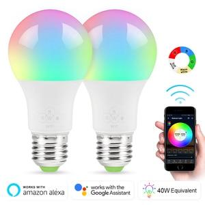 E27 Smart WIFI Bulb 7W Dimmabl