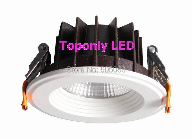 2014 IVAR 5 Round Epistar Cob 15w Led Downlight Lamps Ceiling Recessed Lighting AC100 240V 3