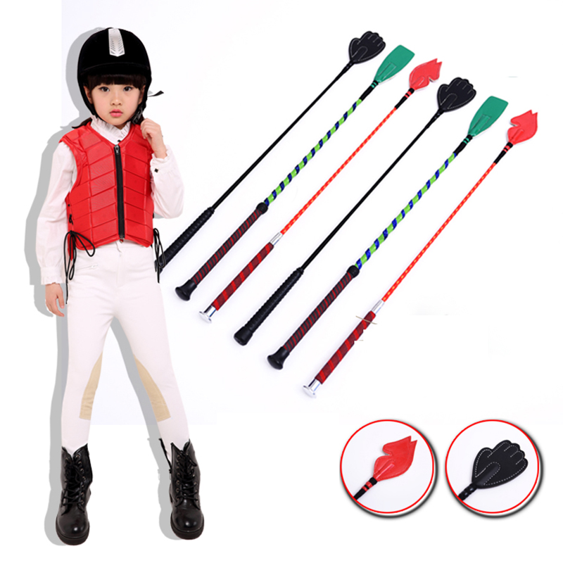 Equestrian Supplies Children's Whip Horse Riding Short Whip Professional Knight Equipment Whips Outdoor Horse Racing Accessories