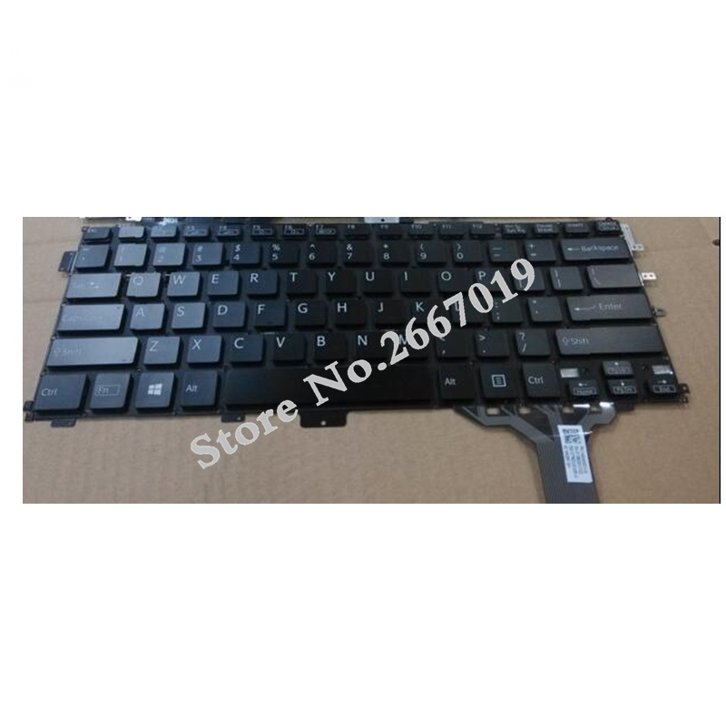 US new FOR Sony VAIO Pro 13 SVP13 SVP13A SVP132 SVP1321 SVP132A Laptop Keyboard original usb keyboard for sony vaio all in one machine for original sony japanese keyboard high quality for compute pc laptop