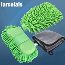 Синель микрофибра Премиум не царапается мытье рукавица перчатка для мытья машины без царапин для автомойки и чистки