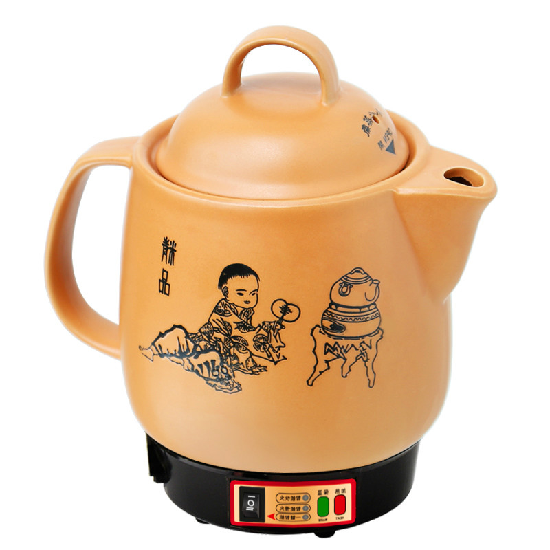 Electric kettle Full automatic decoction of Chinese medicine pot ceramic boiling herbal medic Overheat Protection