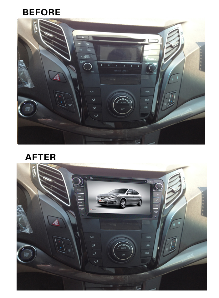 2019 7 inch 4G LTE Android 8.1 IPS quad core car multimedia DVD player Radio <font><b>GPS</b></font> FOR <font><b>Hyundai</b></font> <font><b>i40</b></font> 2011 2012 2013 2014-2018 2019 image