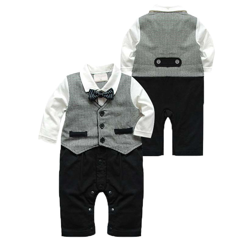 2016 baby pants jammed unlined upper garment of a new baby boy gentleman modelling gentleman suit long-sleeved clothes edition in the fall of new women s wear long sleeved sweater knit render unlined upper garment female hedge brief paragraph