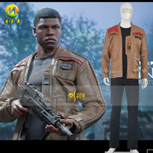 Star Wars:  Finn Cosplay Costume For Adult Men and Women Top+Pants+Jackets Suit Costumes MZX-184-09-2