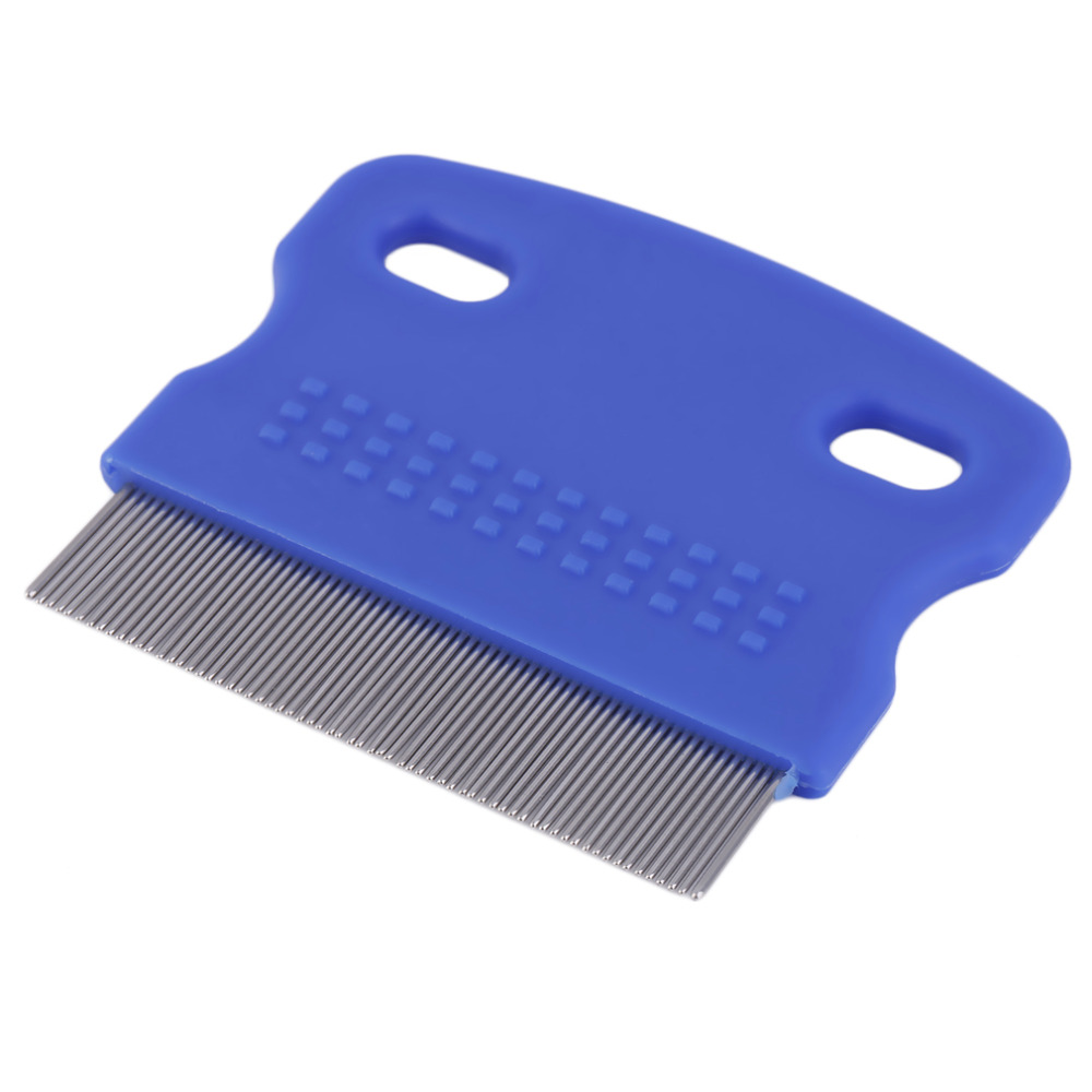 Dog Brush Flea Comb Puppy Cat Hair Fur Grooming Shedding Combs Tool For Long Short