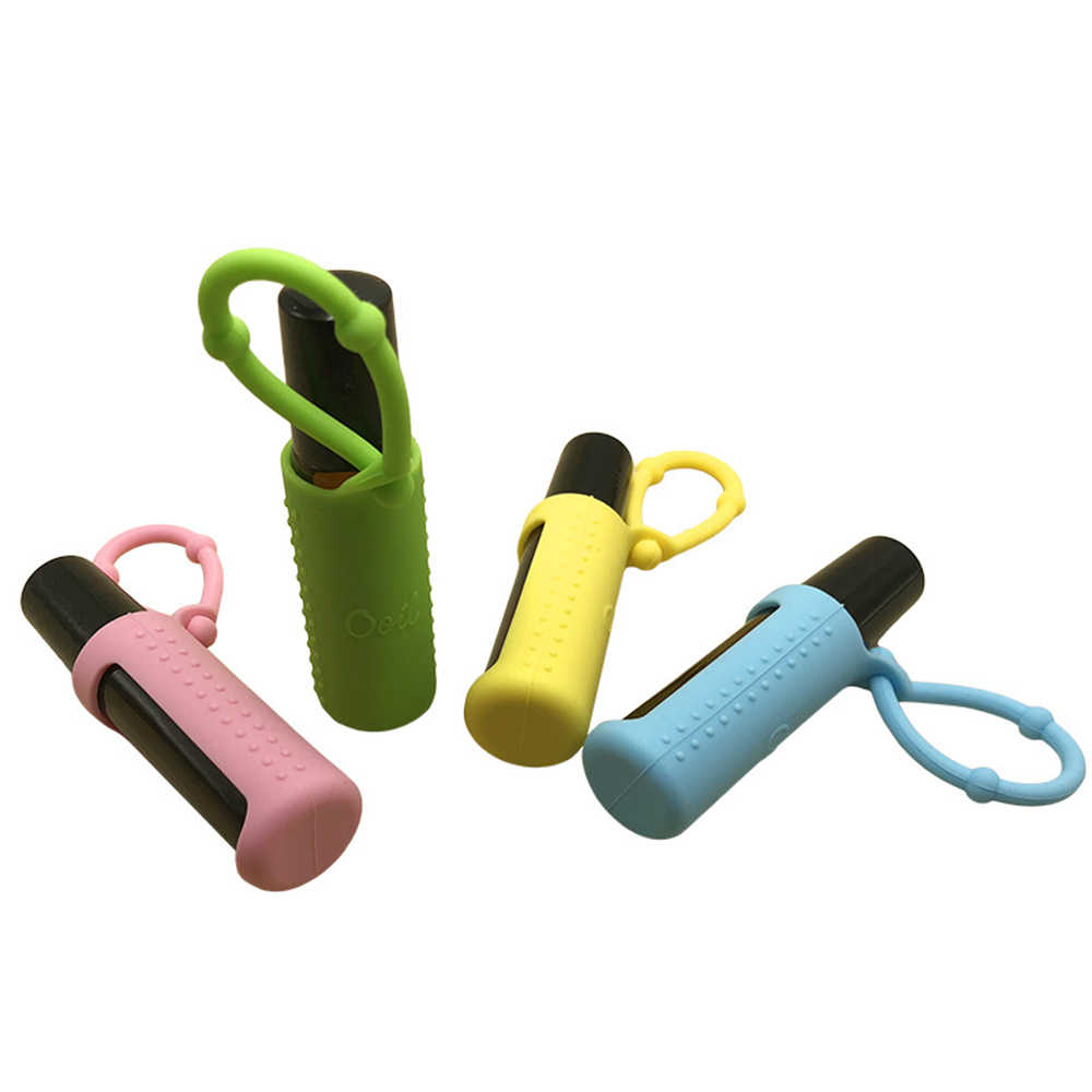 5/10/15 ML Silicone Protective Carrying Holder Case Essential Oil Bottle Protective Cover Storage Protector Bottle Accessories