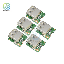5Pcs 5V Step Up Power Supply Module Lithium Battery Charging