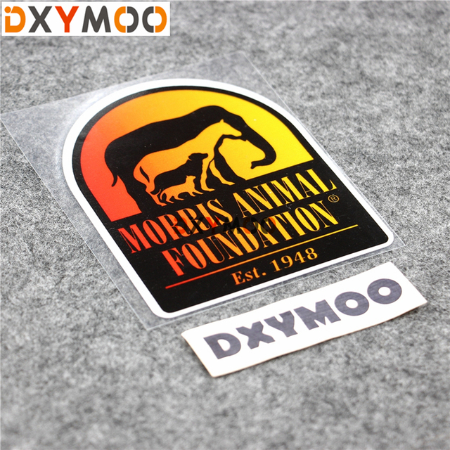 Funny motorcycle stickers 4x4 suv wild animal protection car window skateboard vinyl decals waterproof 12x10cm